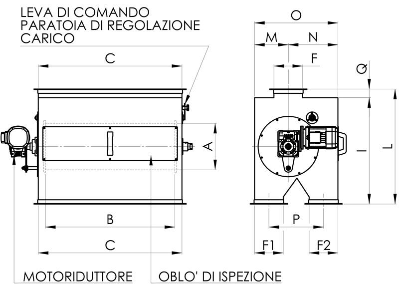 separazione magnetica disegno cernitrici