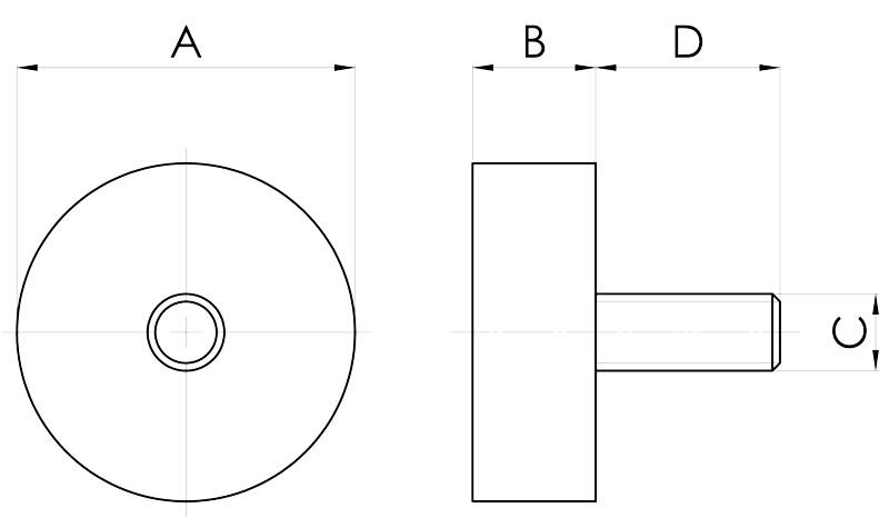 basi magnetiche serie sf