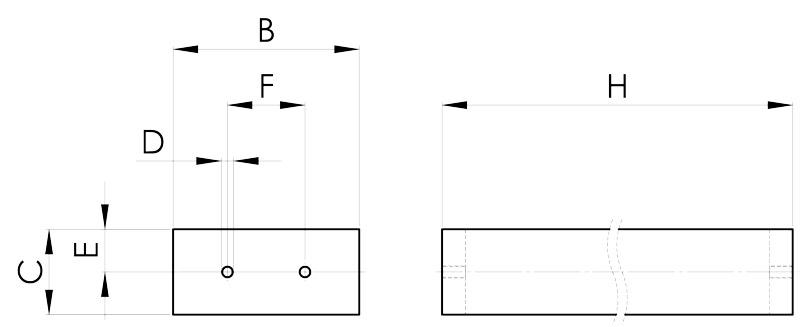 separazione magnetica disegno barra per epuratore