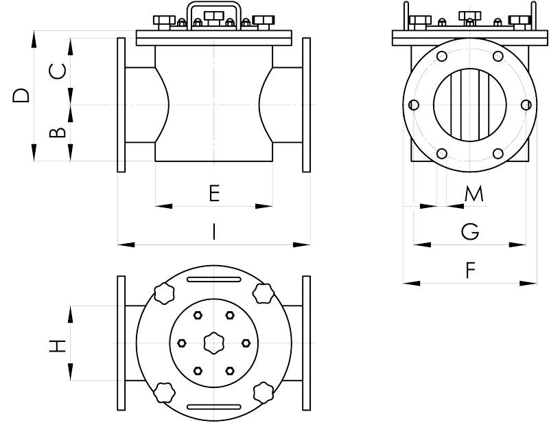 separazione magnetica disegno filtri