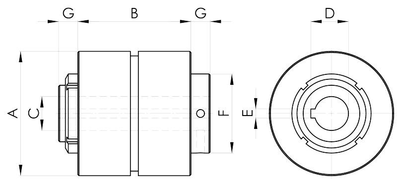 convogliatura magnetica disegno pulegge 3