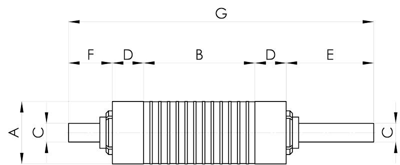 separazione magnetica disegno rullo a poli fitti