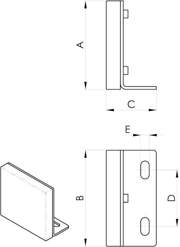 convogliatura magnetica disegno separatori con supporto