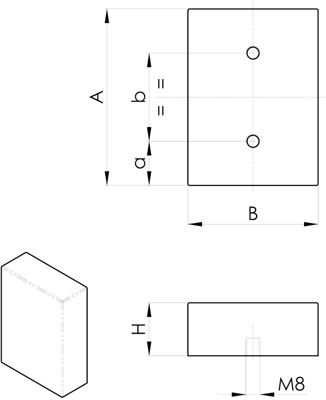 convogliatura magnetica disegno separatori