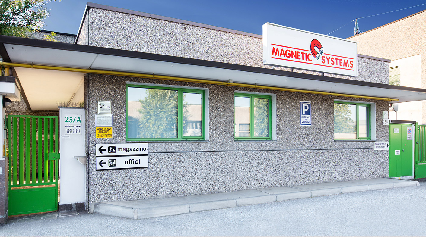ingresso azienda magnetic systems