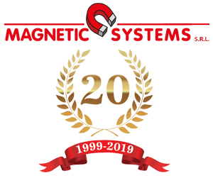 Logo magnetic dei 20 anni